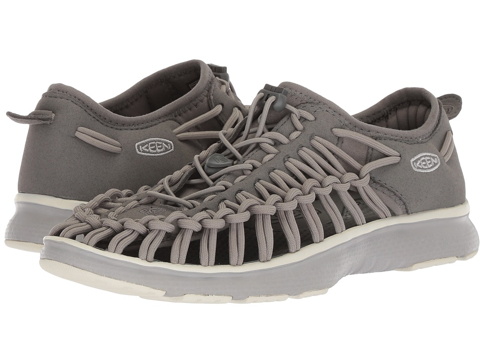 Keen Kids Uneek O2 (Little Kid/Big Kid) (Neutral Gray/Gargoyle) Boy's Shoes
