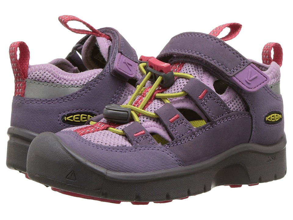 Keen Kids Hikeport Vent (Toddler/Little Kid) (Montana Grape/Teaberry) Girl's Shoes