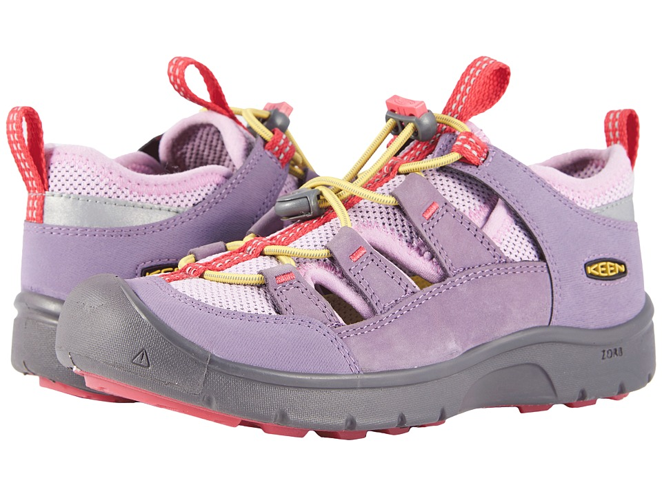 Keen Kids Hikeport Vent (Little Kid/Big Kid) (Montana Grape/Teaberry) Girl's Shoes