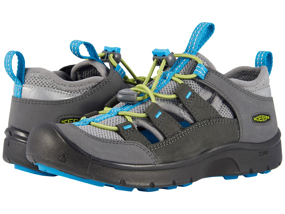Keen Kids Hikeport Vent (Little Kid/Big Kid) (Magnet/Greenery) Boy's Shoes