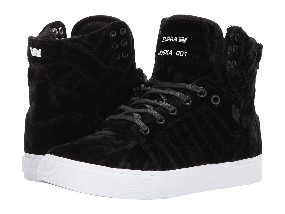Supra Skytop (Black/Black/White) Women