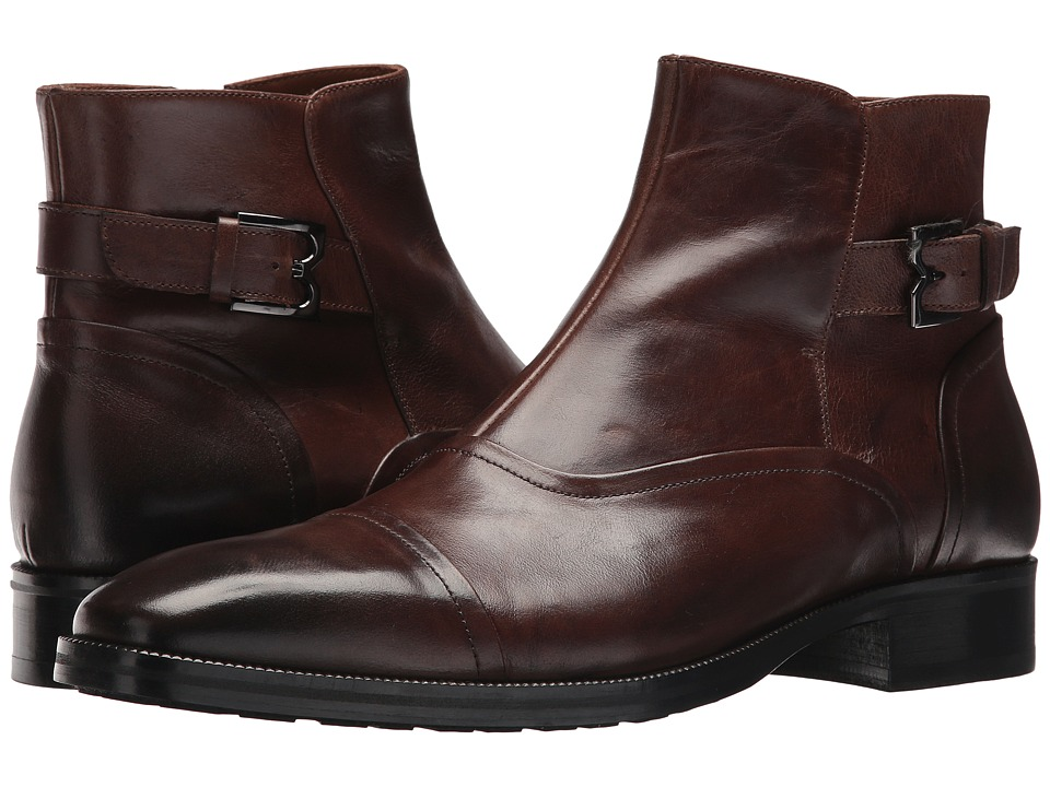Bruno Magli - Arcadia (Dark Brown) Mens Pull-on Boots