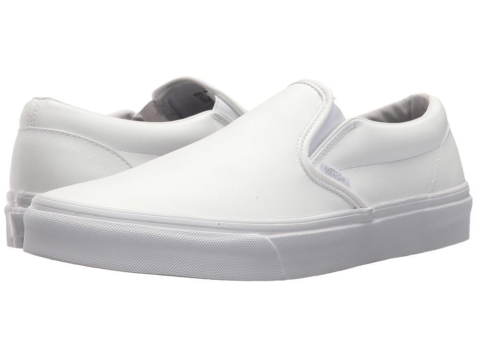 Vans Classic Slip-Ontm ((Classic Tumble) True White) Skate Shoes