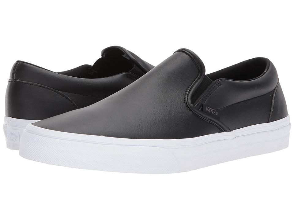 Vans Classic Slip-Ontm ((Classic Tumble) Black) Skate Shoes