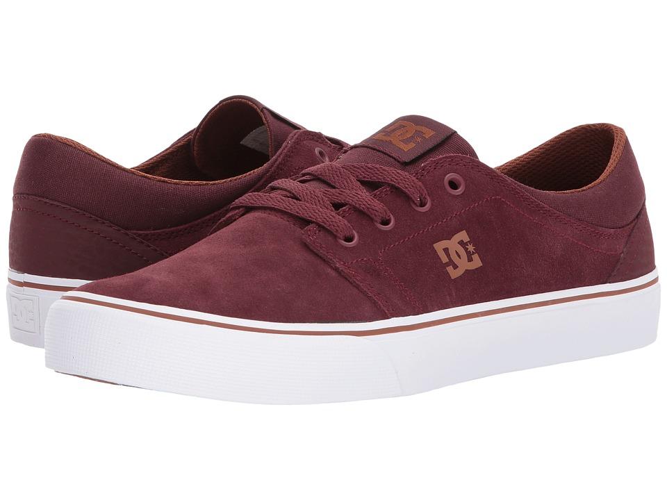 DC Trase SD (Burgundy) Skate Shoes