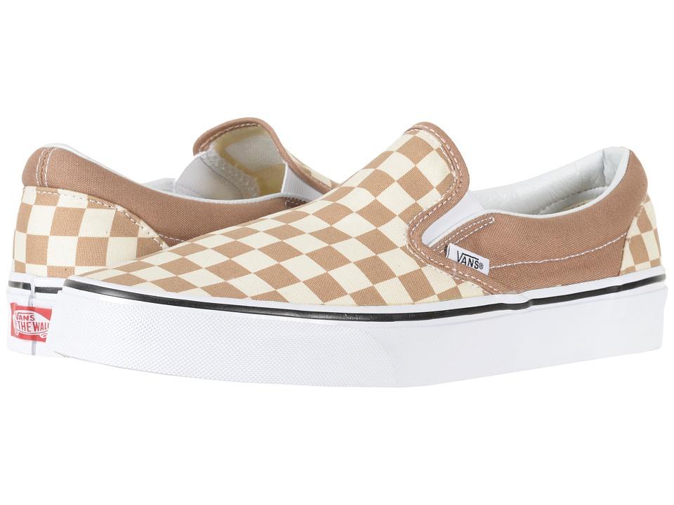 Vans Classic Slip-Ontm ((Checkerboard) Tiger