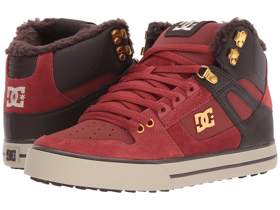 DC - Spartan High WC WNT (Coffee) Mens Shoes