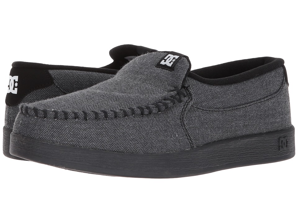 DC - Villain TX (Heather White) Mens Skate Shoes