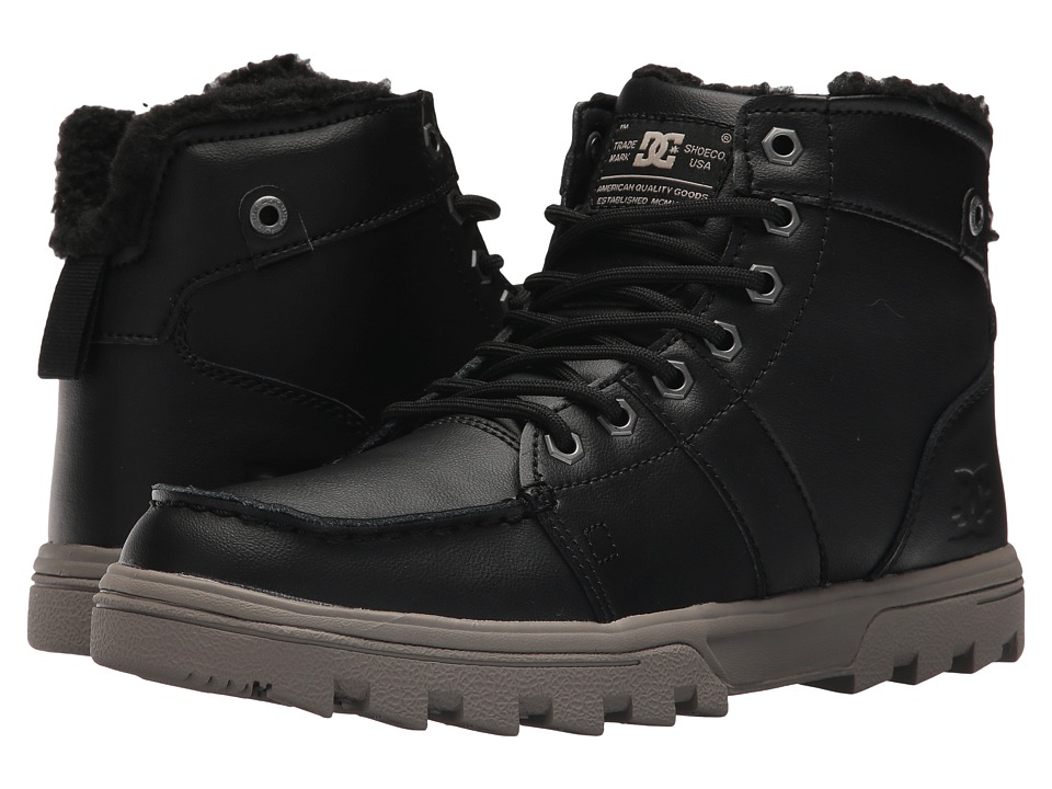 DC - Woodland (Black/Tan) Mens Boots