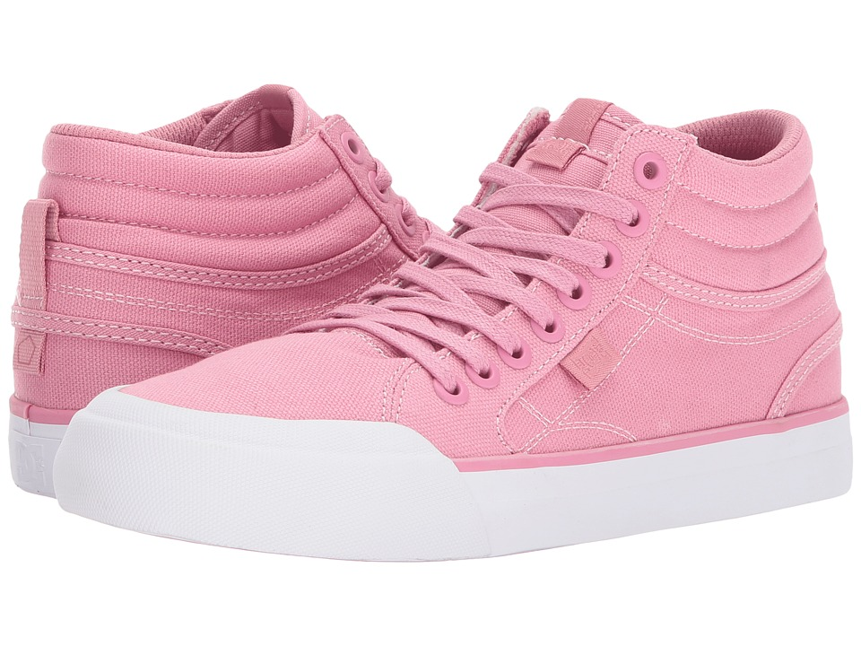 DC Evan Hi TX (Pink) Women's Shoes