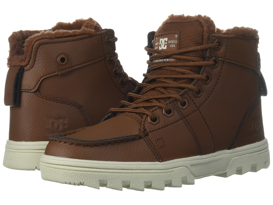 DC Woodland (Brown) Women's Lace-up Boots