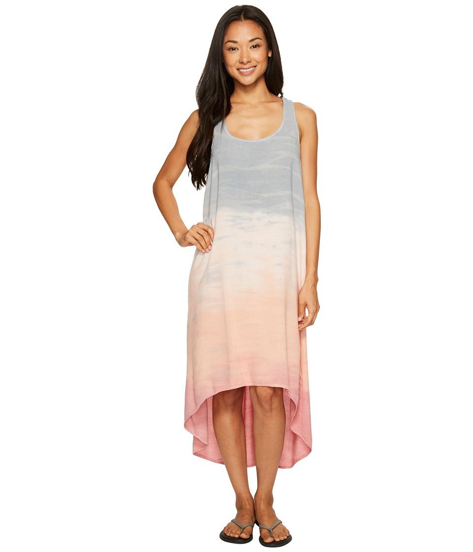 Hard Tail Hi-Low Tank Dress (Rainbow Horizon 53) Women