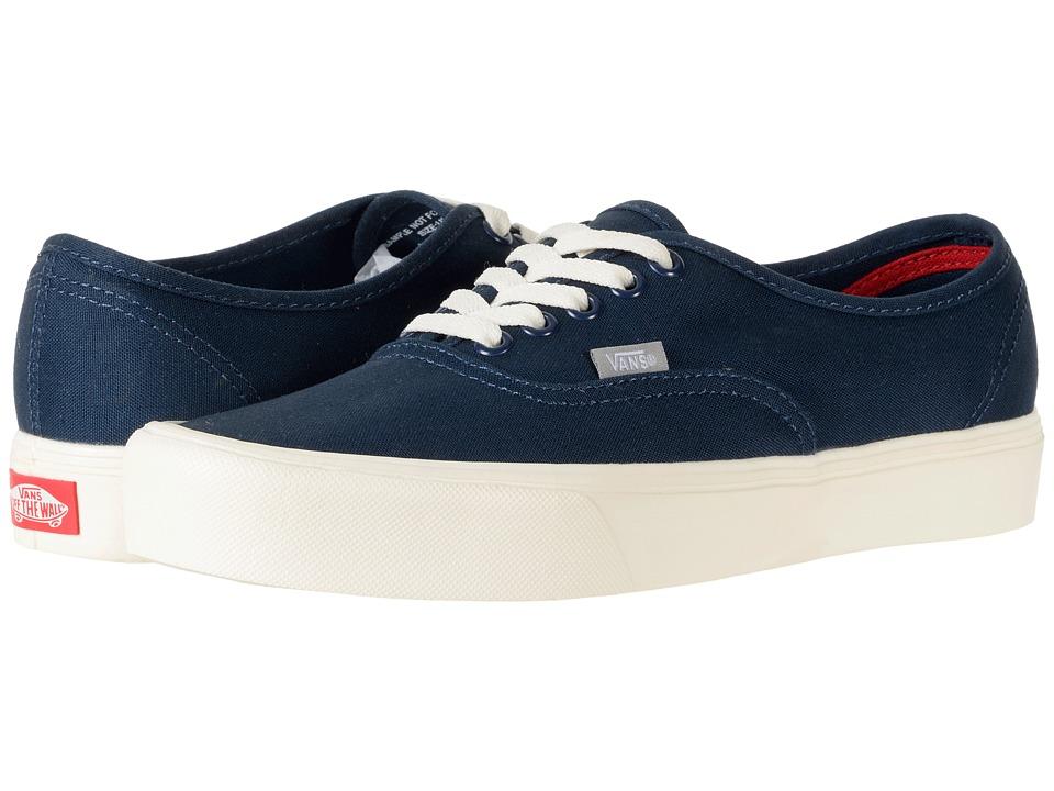 Vans Authentic Lite ((Canvas) Dress Blues/Drizzle/Marshmallow) Skate Shoes