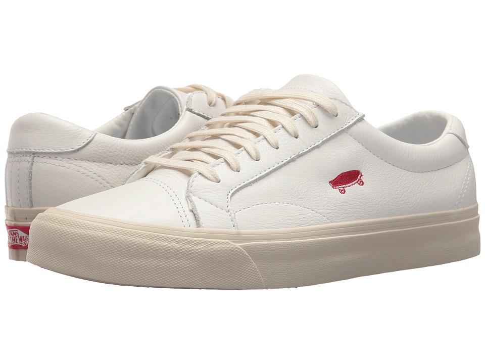 Vans Court Icon ((Salton Leather) True White/Turtledove) Skate Shoes