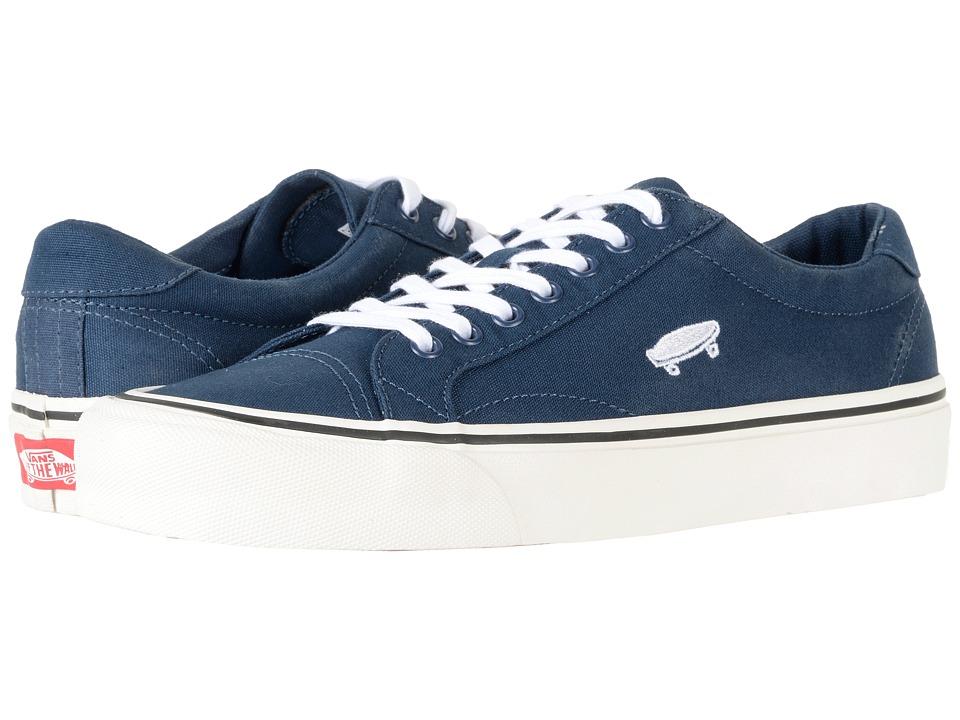 Vans Court Icon ((Salton Canvas) Dress Blues/Cloud Dancer) Skate Shoes
