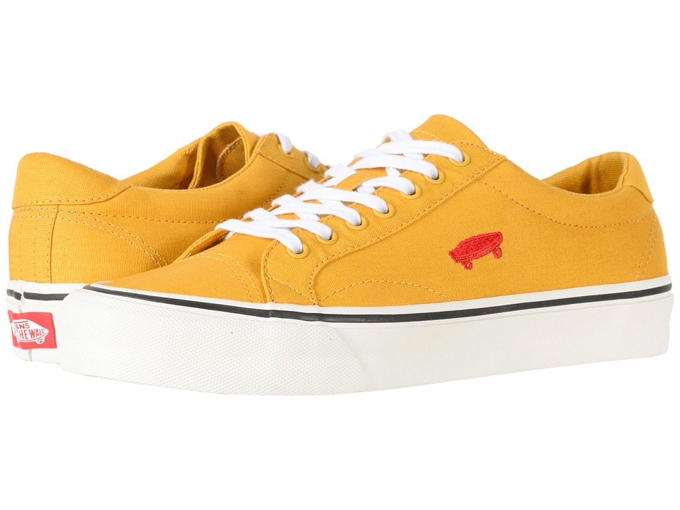 Vans Court Icon ((Salton Canvas) Mineral Yellow/Cloud Dancer) Skate Shoes