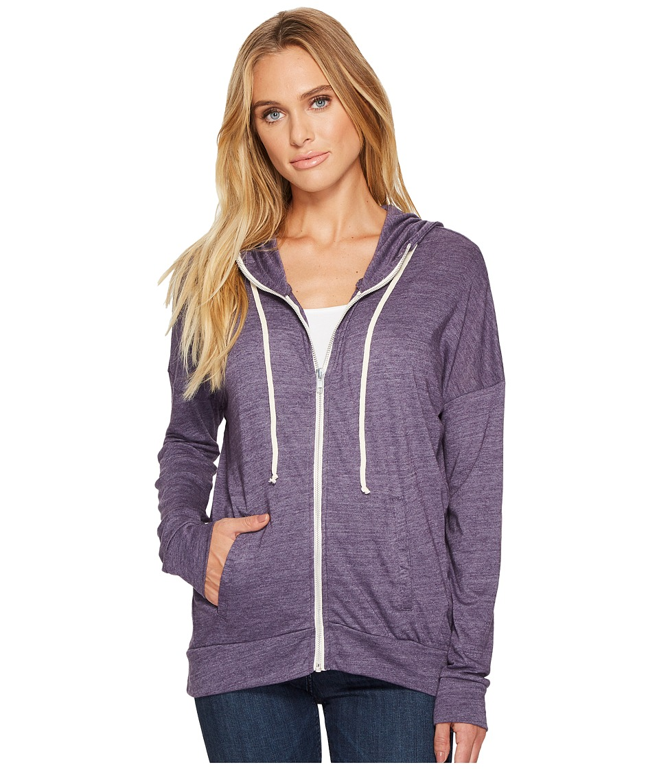 Alternative - Eco Jersey Cool Down Zip Hoodie