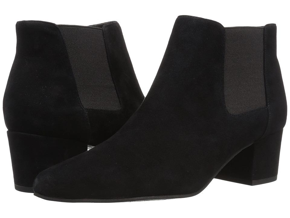 Pelle Moda - Darna (Black Suede) Womens Boots