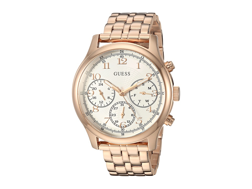 GUESS - U1018L3 (Rose Gold) Watches