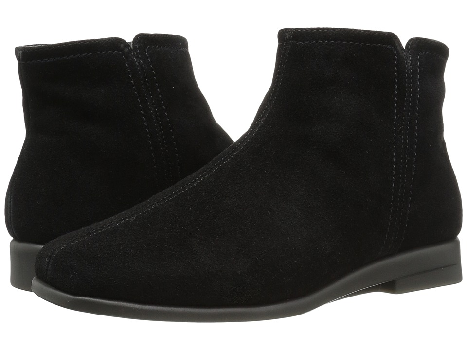 Retro Boots, Granny Boots, 70s Boots Aerosoles - Double Trouble 2 Black Suede Womens Boots $68.99 AT vintagedancer.com