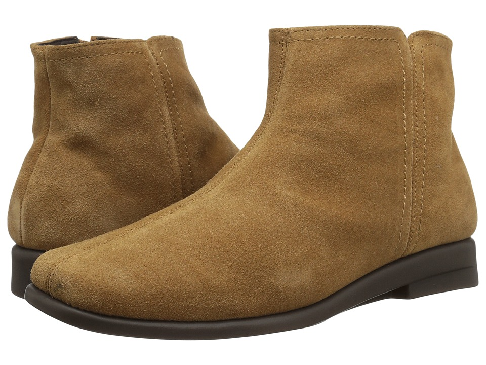 Vintage Style Boots, Retro Boots, Granny Boots, Fur Top Boots Aerosoles - Double Trouble 2 Tan Suede Womens Boots $69.99 AT vintagedancer.com