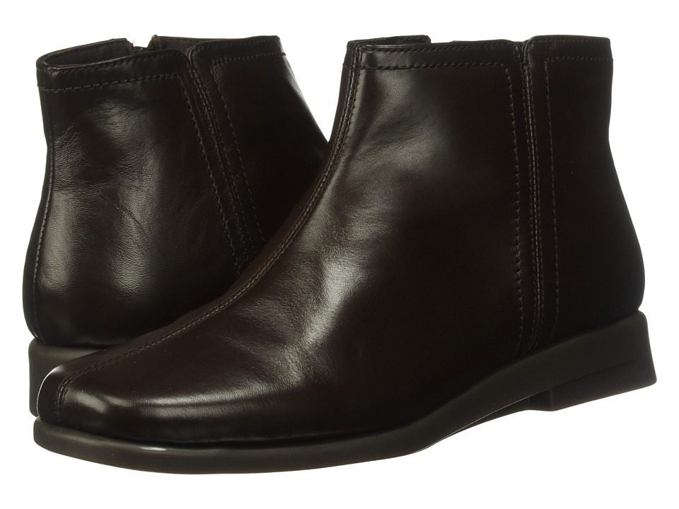 1960s Style Shoes Aerosoles - Double Trouble 2 Dark Brown Leather Womens Boots $69.99 AT vintagedancer.com