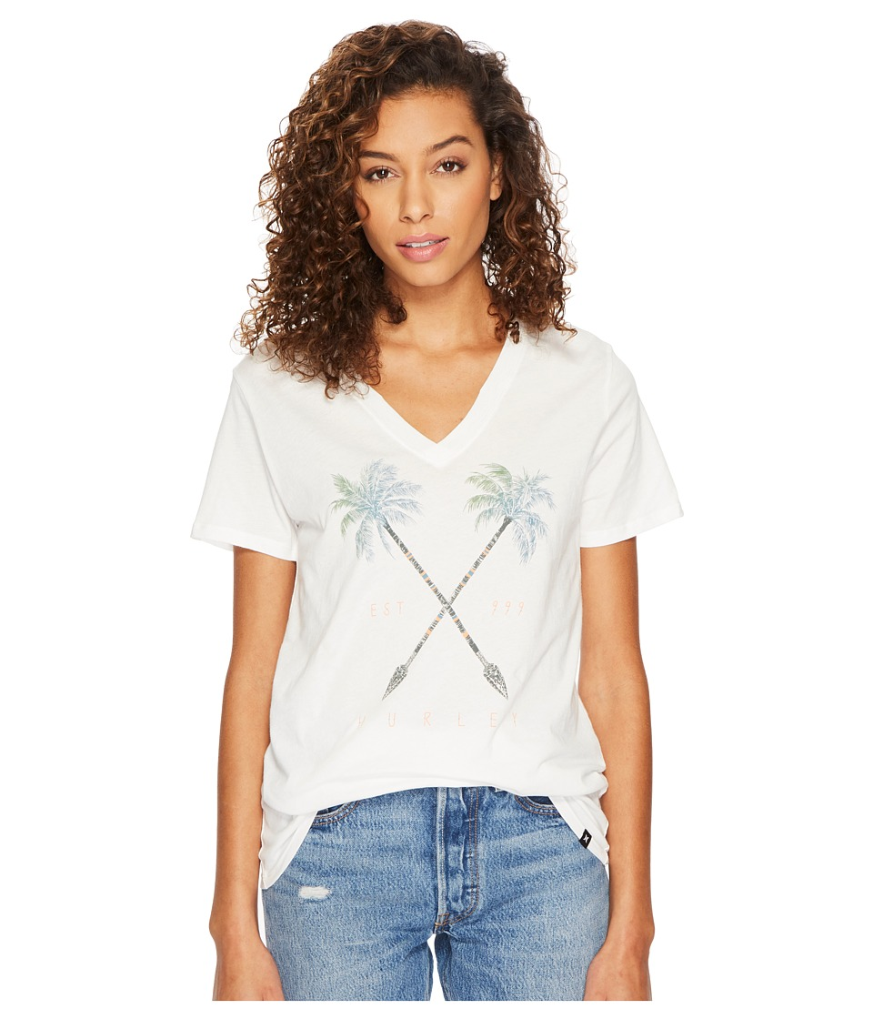 Hurley Fronds narrows Premium V-Neck In (Sail) Women