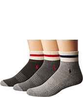 Polo Ralph Lauren - 3-Pack Monkey Athletic Quarter