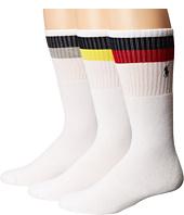 Polo Ralph Lauren - 3-Pack Tube Socks