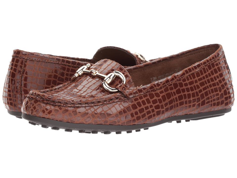 Aerosoles Drive Through (Dark Tan Croco) Women