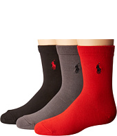 Polo Ralph Lauren - Supersoft Flat 3-Pack (Toddler/Little Kid)