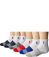 Polo Ralph Lauren - Athletic Color Block Quarter 6-Pack (Toddler/Little Kid)