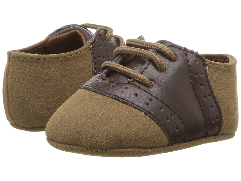 Baby Deer Soft Sole Oxford (Infant) (Tan) Boy's Shoes