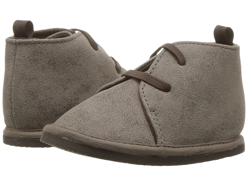 Baby Deer First Steps Desert Boot (Infant/Toddler) (Taupe) Boy's Shoes