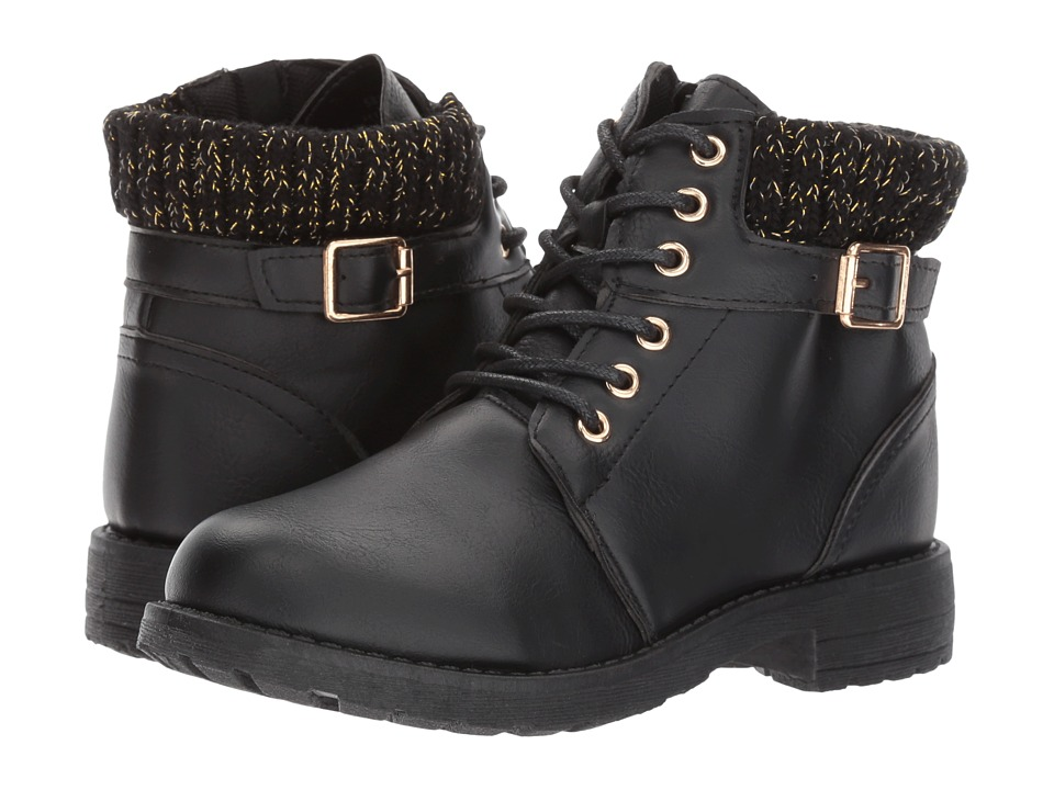 kensie girl Kids - Lace-Up Buckle Boot