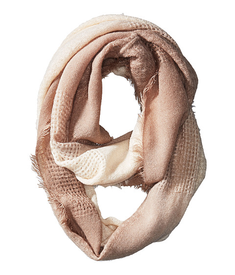 Michael Stars Textured Frontier Eternity Scarf - Chalk