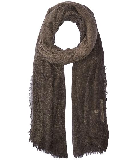 Michael Stars Crinkled & Cozy Wrap - Black