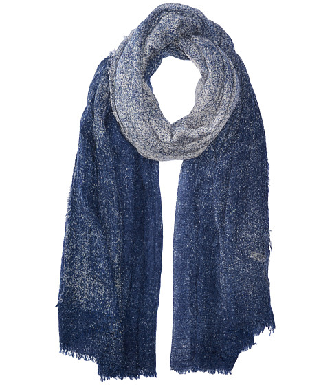 Michael Stars Crinkled & Cozy Wrap - Nocturnal