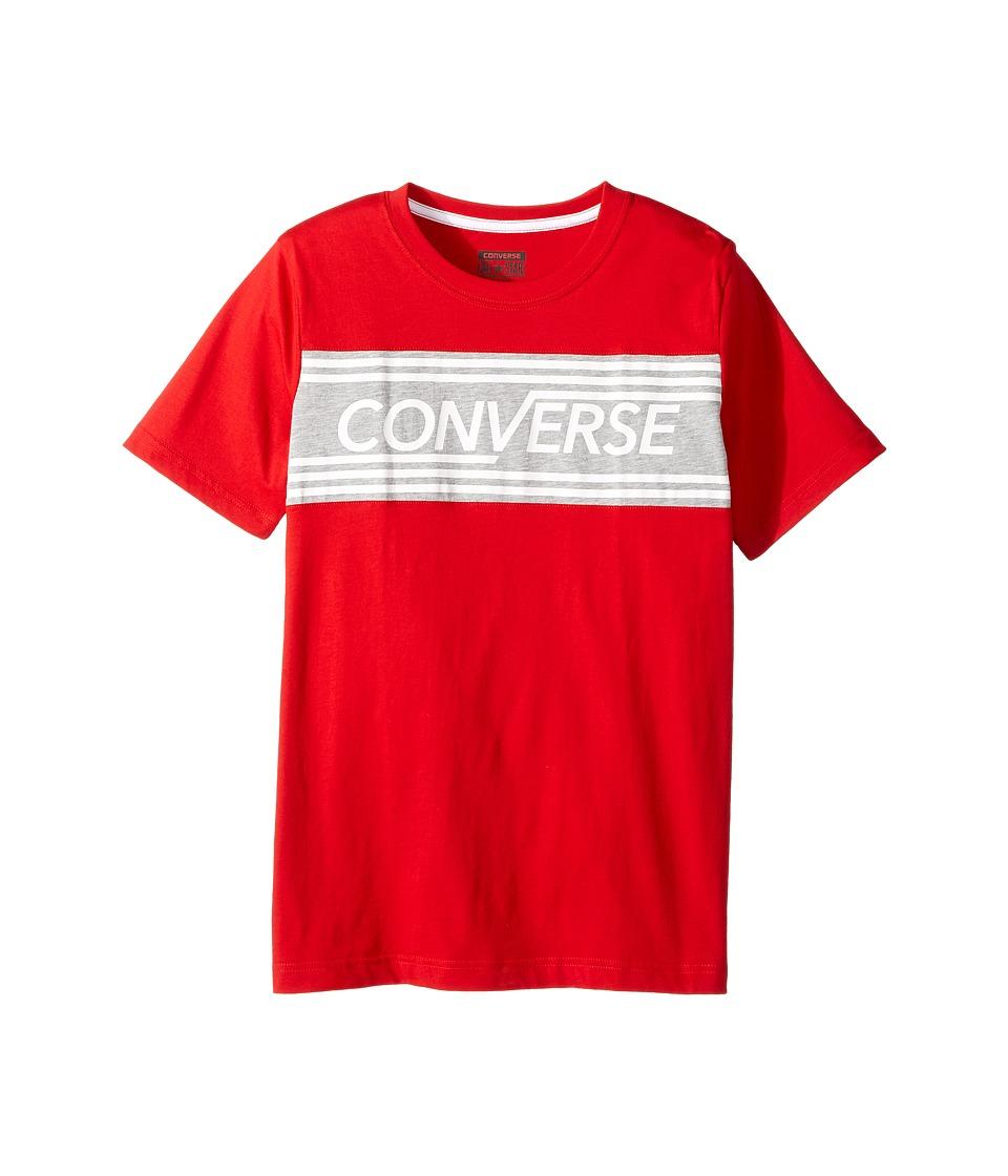 Converse Kids Retro Tee (Big Kids) (Red) Boy
