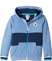 Converse Kids - Color Blocked Hoodie (Toddler/Little Kids)