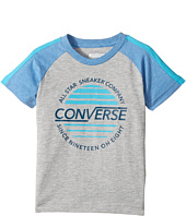 Converse Kids - Retro Raglan Top (Toddler/Little Kids)