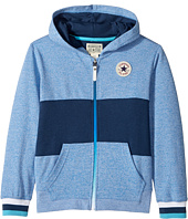 Converse Kids - Color Blocked Hoodie (Big Kids)