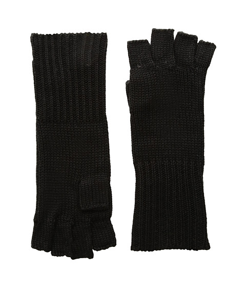 Michael Stars Give Me Some Cashmere Fingerless Gloves - Black