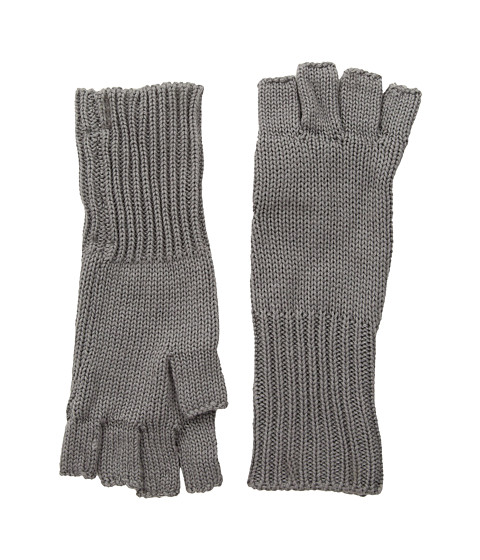 Michael Stars Give Me Some Cashmere Fingerless Gloves - Galvanized