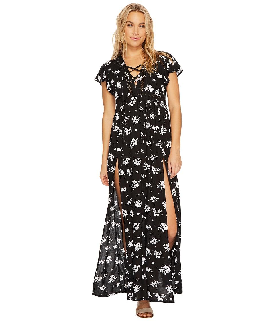 Rip Curl Lakehouse Maxi Dress (Black) Women