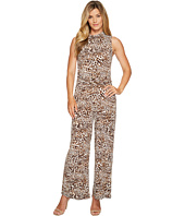 MICHAEL Michael Kors - Sleeveless Mock Neck Jumpsuit