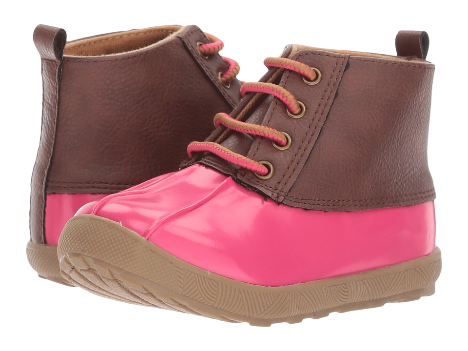 Baby Deer - First Steps Duck Boot (Infant/Toddler) (Fuchsia) Girls Shoes