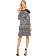 MICHAEL Michael Kors - Pasiley Houndstooth Lace Dress