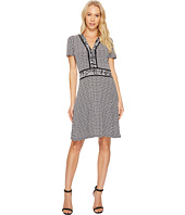 MICHAEL Michael Kors - Houndstooth Cat Border Dress