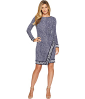 MICHAEL Michael Kors - Cheetah Border Wrap Dress
